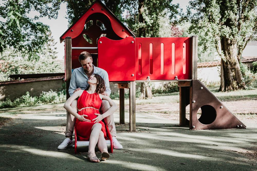 jeux d enfants - square - parc - chartres - eure et loir - eure - evreux - photographe grossesse