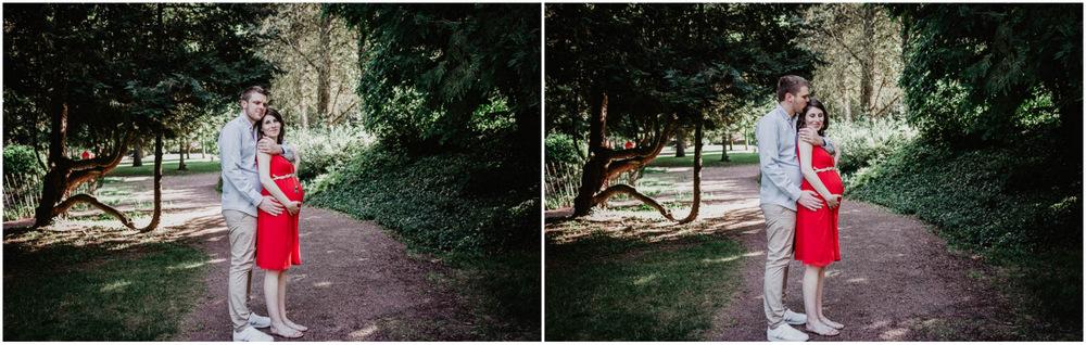 grossesse - photographe chartres - eure et loir - style naturel - champetre - seance photo
