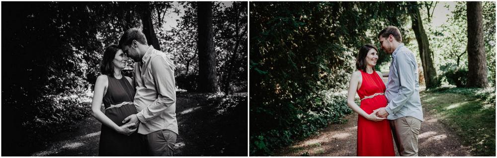 shooting photo grossesse - photographe eure et loir - nature - complicite - amour - chartres
