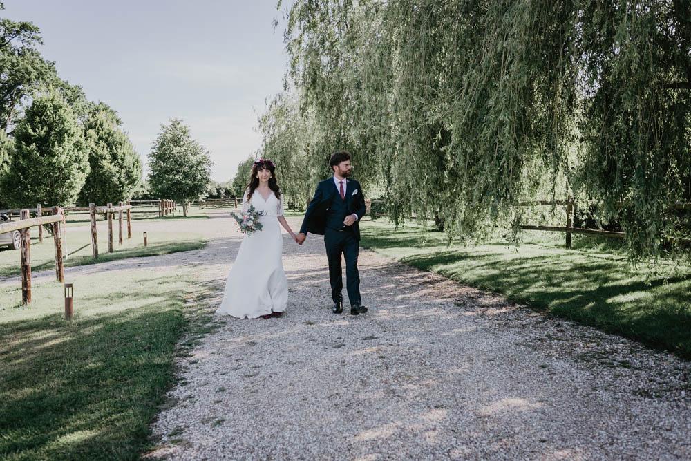 domaine des evis - photographe eure et loir - mariage boheme - verneuil sur avre - chartres - evreux - exterieur - nature