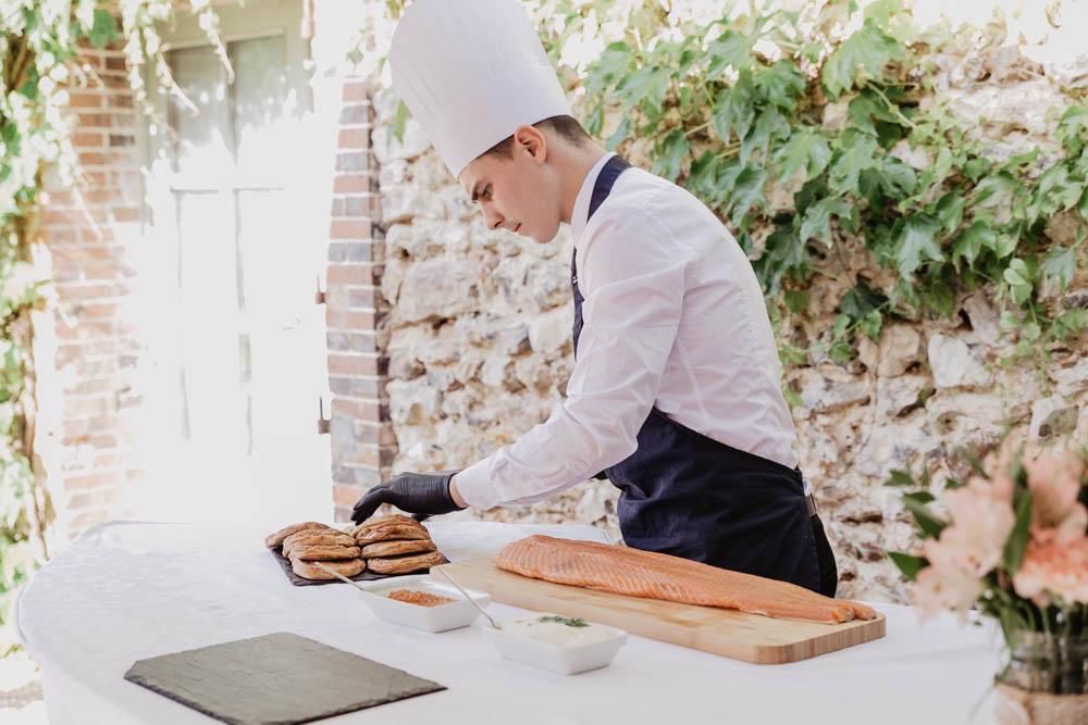 saumon frais - toast - cocktail - domaine des evis - erisay receptions - photographe eure et loir - chartres - verneuil sur avre - evreux