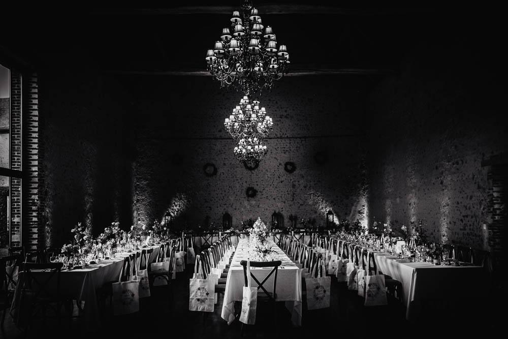 salle de reception - mariage au domaine des evis - noir et blanc - photographe eure et loir - perche - verneuil sur avre - chartres - mariages