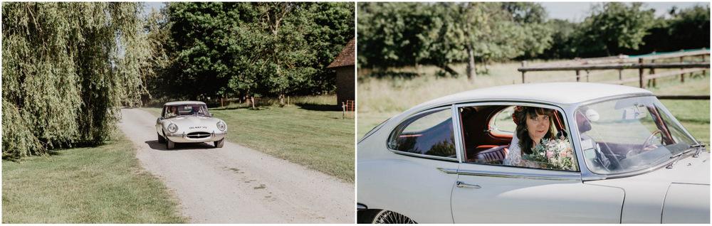 domaine des evis - dans le perche - mariage boheme - jaguar - photographe chartres - eure et loir - verneuil sur avre - evreux - orne