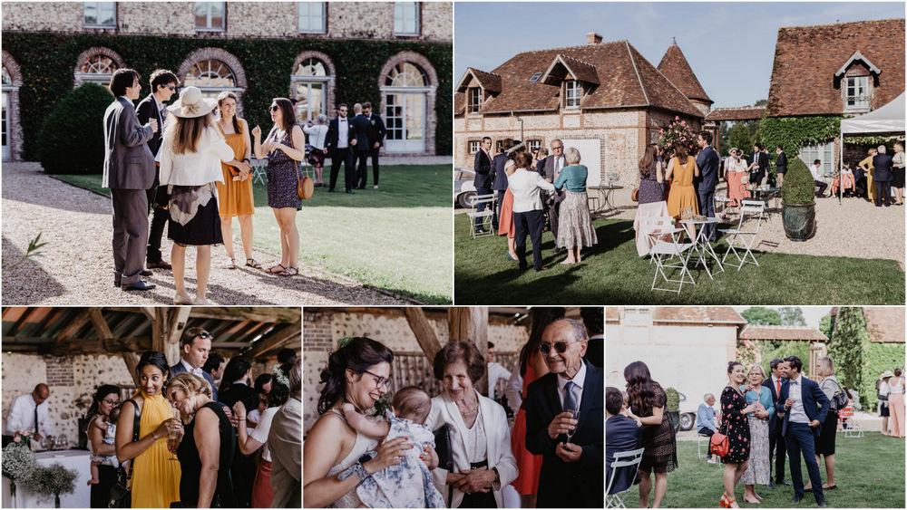 mariage en exterieur - cocktail - vin d honneur - domaine des evis - erisay receptions - photographe verneuil sur avre - photographe chartres - eure - evreux