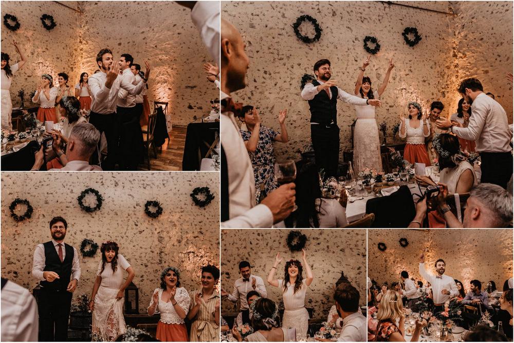 soiree - ambiance de folie - chants - danse - domaine des evis - photographe mariages - verneuil sur avre - chartres - evreux - perche - eure et loir