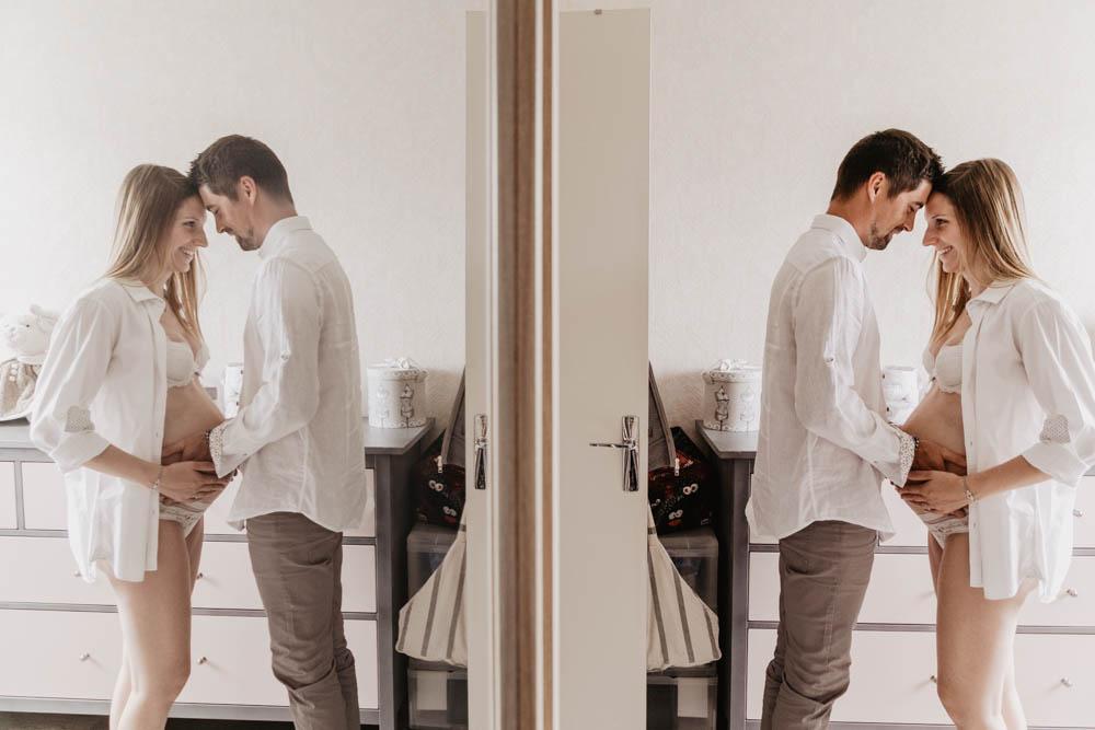photo boudoir - grossesse chartres - photographe - photo de grossesse - eure et loir - verneuil sur avre - a la maison - en interieur - a domicile