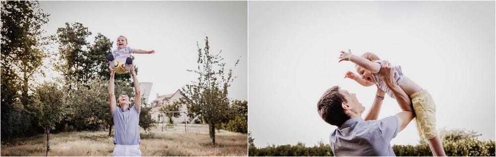 faire l avion - pere - fils - souvenirs de famille - photographe verneuil sur avre - photographe dreux - photographe chartres - photographe de famille - photos authentiques - naturel