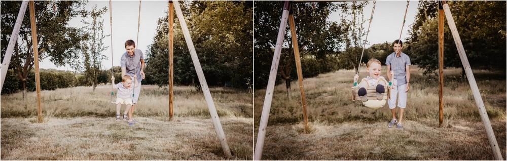 balancoire - photos naturelles - photographe de famille - photographe senonches - enfants - shooting photo - faire une seance photo - naturelle