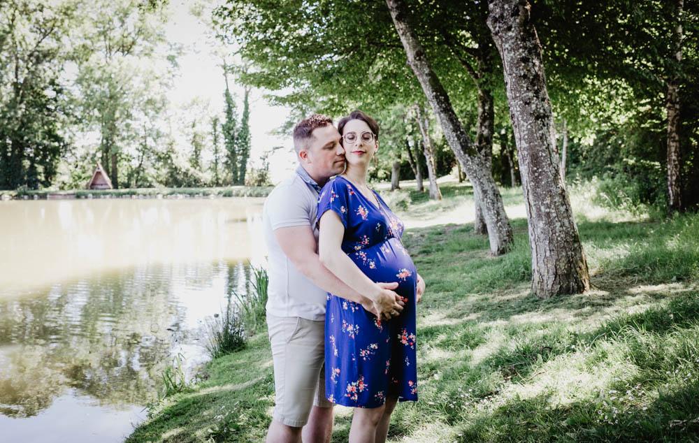 futurs parents - photographe orne - eure et loir - grossesse - couple - chartres - verneuil sur avre - senonches - photographe grossesse